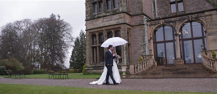 Armathwaite Hall Hotel - Kara and Adam